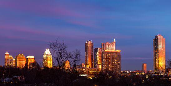 Austin Sunset Skyline