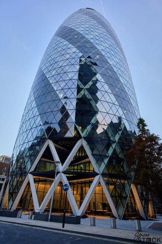 London City Gherkin 1