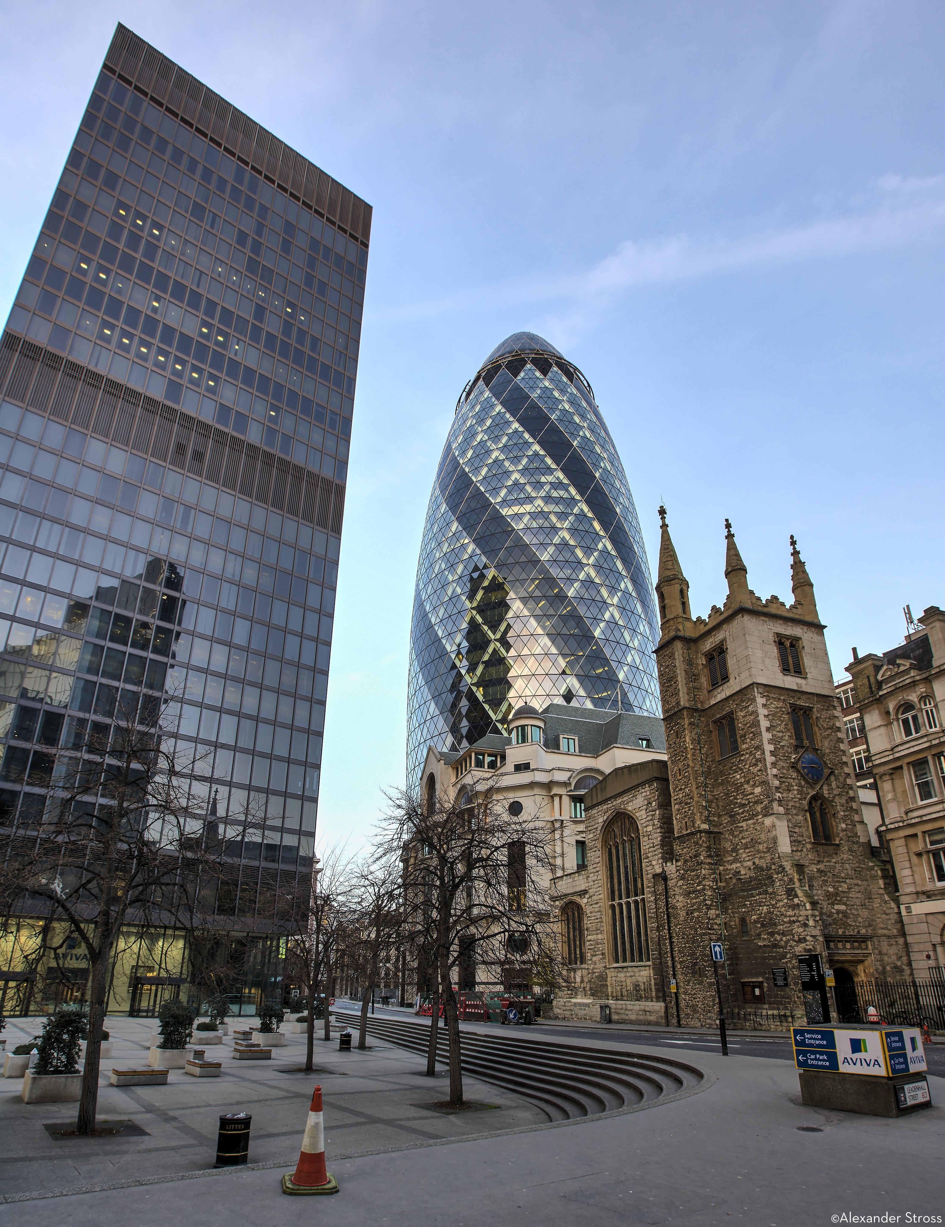 London England Gherkin 2