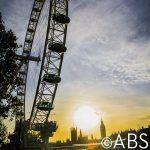 London Eye over Parliament