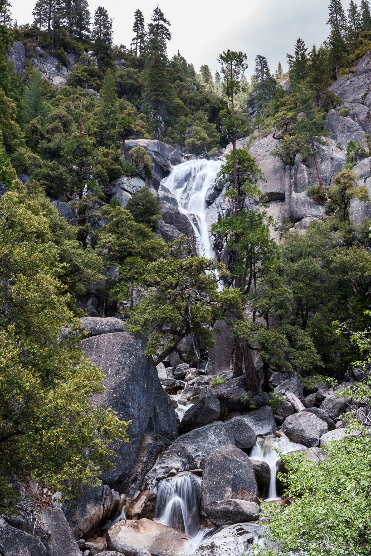 Yosemite falling water 1