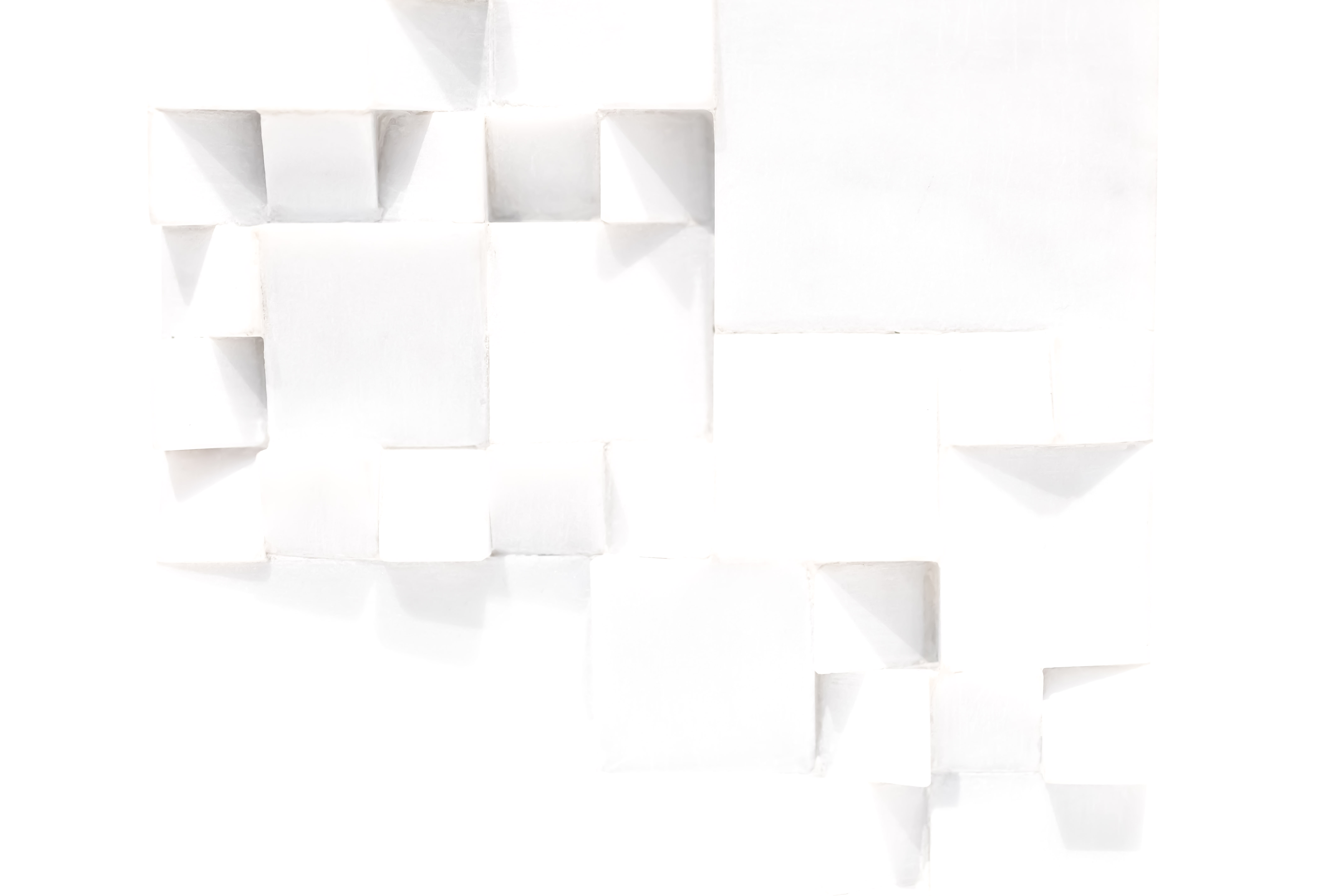 White Cubist Emerging