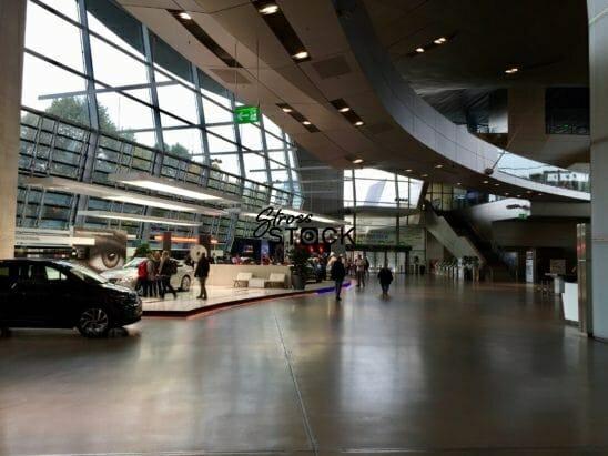 The Welt at BMW World Headquarters Munich, Germany