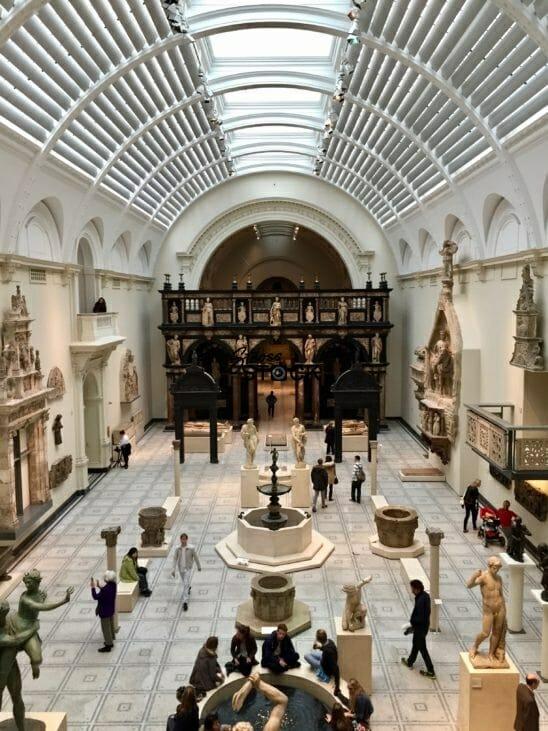 Victoria and Albert Museum, London, England, UK