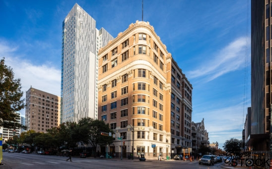 Littlefield Building and Aloft Hotel Austin, Texas